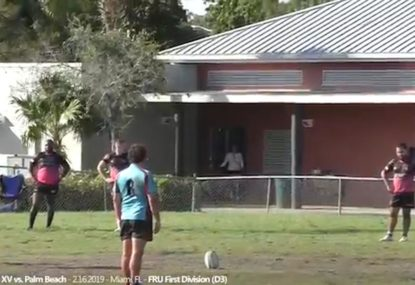 Botched penalty goal almost becomes opportunistic meat pie