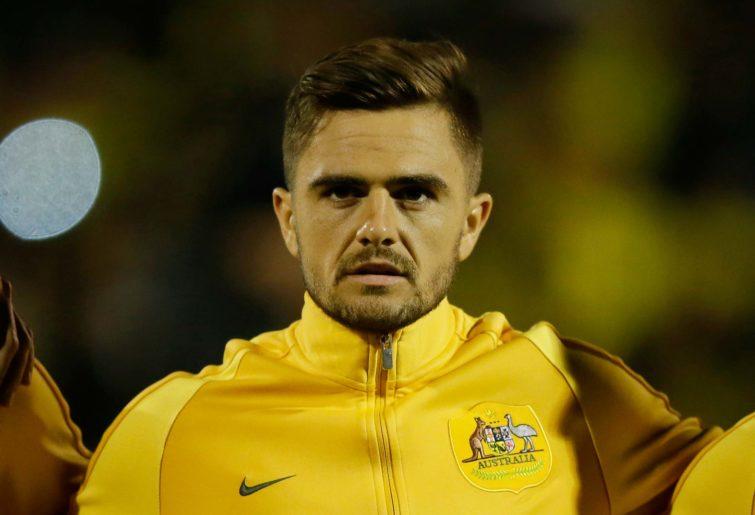 Australia's Josh Risdon