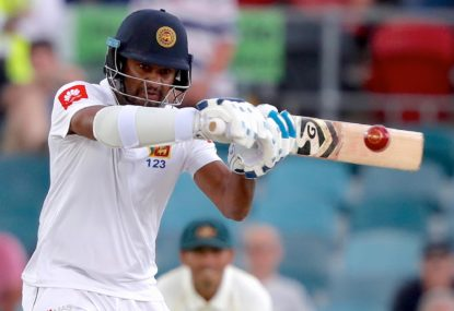 Karunaratne is leading Sri Lanka's resurgence