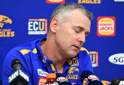 Have the West Coast Eagles been figured out?