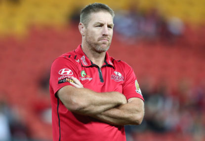 Reds coach Brad Thorn says there's no rift with Izack Rodda