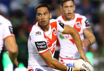 St George Illawarra Dragons vs North Queensland Cowboys: NRL live scores, blog