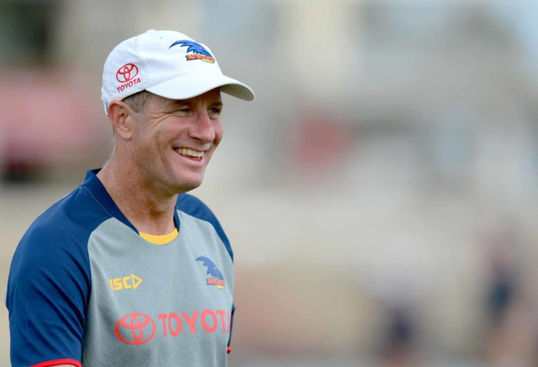 Crows coach Don Pyke at an Adelaide training session