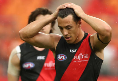 The heat is on Essendon and GWS after their weekend horror shows
