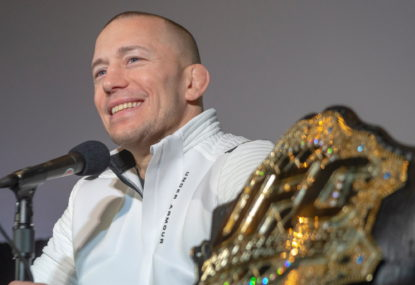 Thank you, Georges St-Pierre