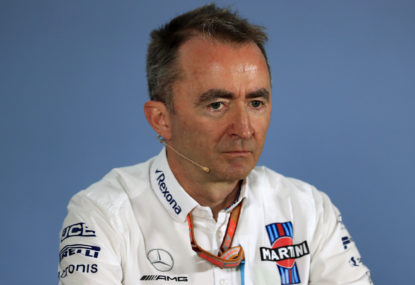 Lowe blow as Williams' tech chief falls on his sword
