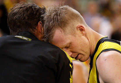 Hawkins and Riewoldt admit they're uneasy about hubs