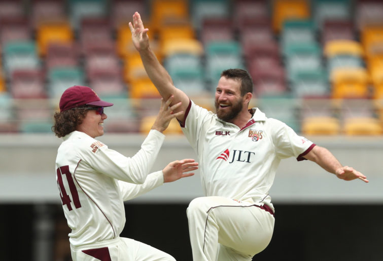 Queensland all-rounder Michael Neser