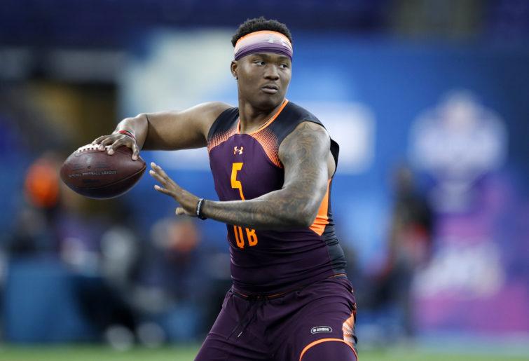 Quarterback Dwayne Haskins