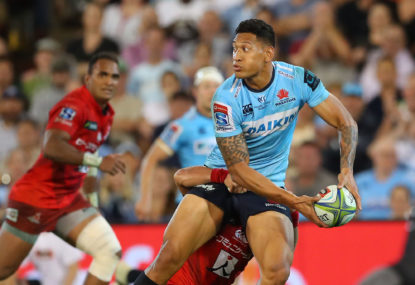 Get Israel Folau and Alan Joyce across the table