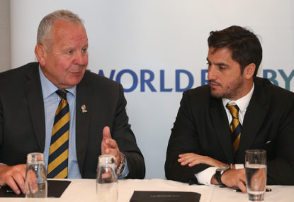 The battle for World Rugby: Agustin Pichot versus Bill Beaumont