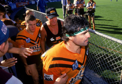The Balmain Tigers' greatest ever team