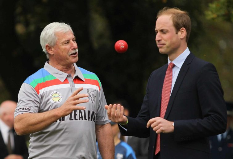 Sir Richard Hadlee and Prince
