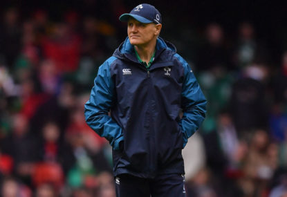 Ireland's collapse should be a lesson for Cheika and company