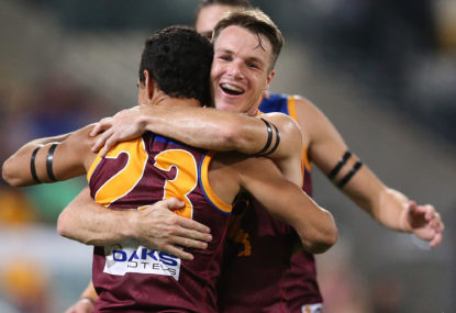 A decade of misery is almost over for the Brisbane Lions