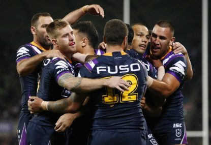 Melbourne Storm should wear black, befitting their status as the game's baddest asses