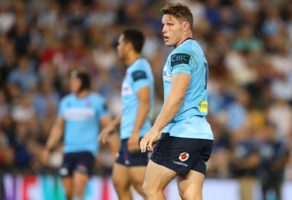 Michael Hooper steps down as Waratahs captain