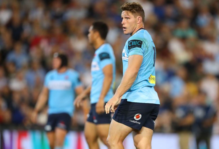 Michael Hooper of the Waratahs