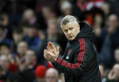 The knives are out for Ole Gunnar Solskjaer at Manchester United