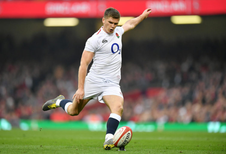 Owen Farrell of England