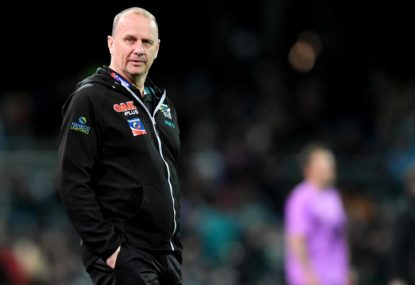 Ken Hinkley upbeat despite Port being crushed by Roos