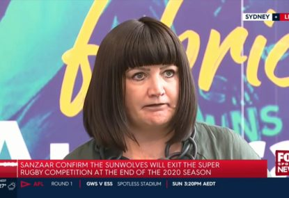 Raelene Castle on why the Sunwolves have been axed
