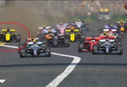 Daniel Ricciardo's horror start to life at Renault