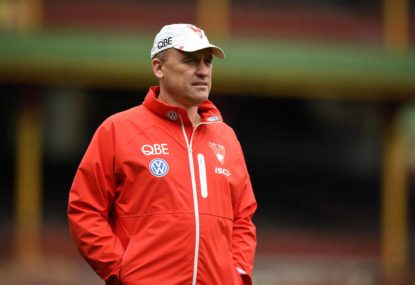 John Longmire signs new contract to remain at Swans