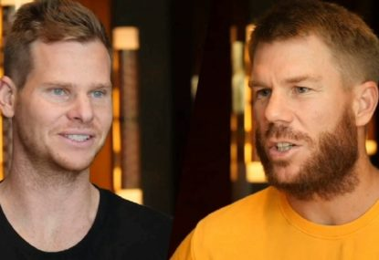 Smith and Warner discuss reunion after exile