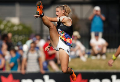 Grateful Blues star praised for AFLW stand