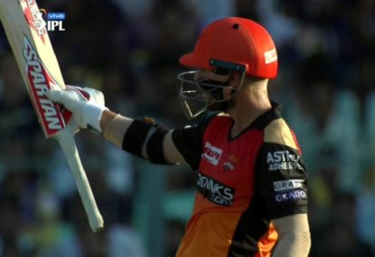WATCH: David Warner sends the selectors a message with blistering 85 on IPL return