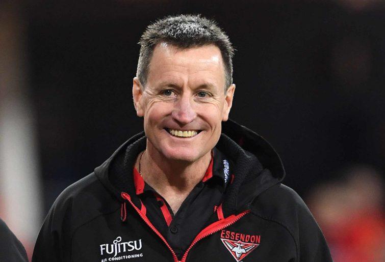 Bombers coach John Worsfold