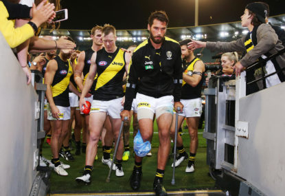 Richmond confirm Alex Rance has torn his ACL, will miss the rest of the season