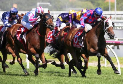 A full analysis of the Caulfield Guineas