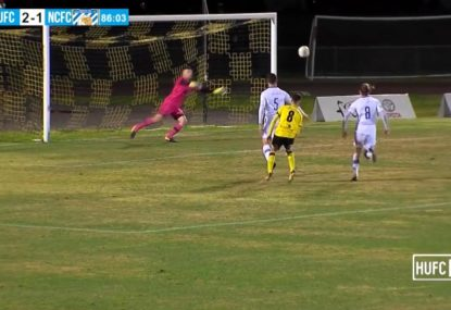 The sneakiest of curling chips unbelievably pops around keeper