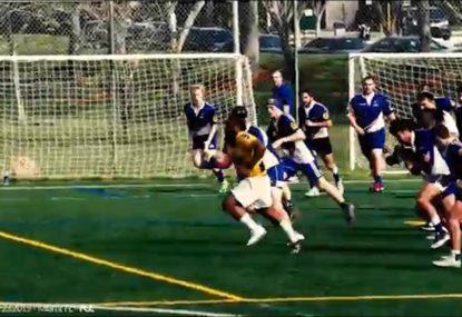 Big Boppa embarrasses defenders dazzling footwork and speed