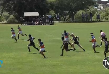 This counterattack try is organised chaos at its most beautiful