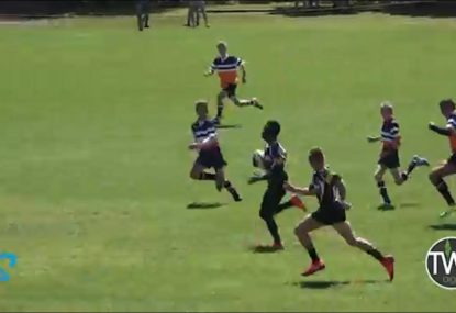 Quick line-out paves the way for lightning long-range try