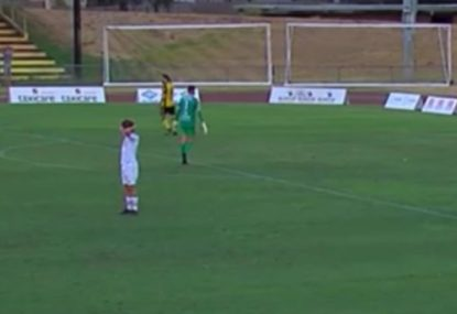 All-time keeper's howler is so nightmarish it's hysterical