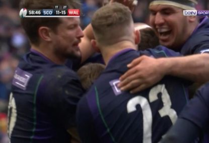 Injury woes continue for Scotland at RWC