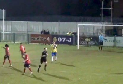 Goal or no goal? Tight call has conceding team fuming