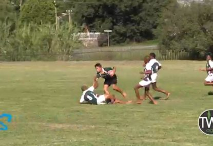 Desperation defence somehow denies near-certain try