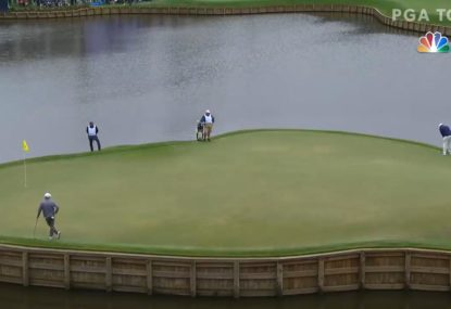 Venezuelan lands putt from virtually another postcode at the Players Championship