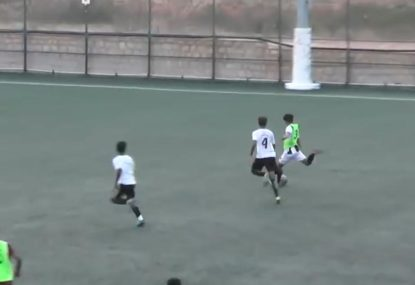 Striker punishes sloppy opposition with speedy counterattack