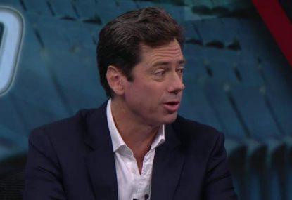 Gillon McLachlan defends AFL drug policy