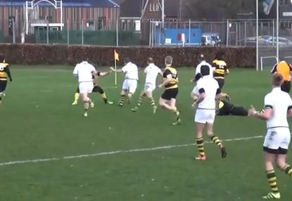 Big boppa embarrasses the backline with breathtaking sidestep