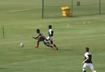 MISSED! Is this the bombed try of the year?
