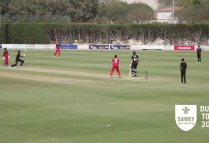 Rising County cricketer blasts bonkers century off 25 balls!