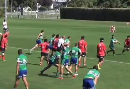 Exquisite no-look flick pass behind the back is try assist of 2019
