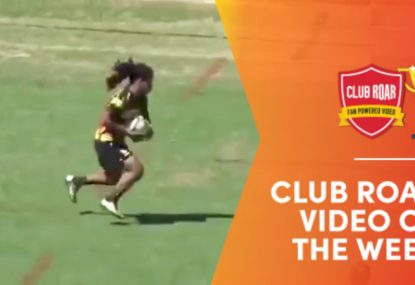 CLUB ROAR VIDEO OF THE WEEK: Rugby's Houdini breaks EIGHT tackles in crazy run